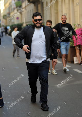 Editorial image of Salvatore Esposito out and about, Milan, Italy - 20 Sep 2019