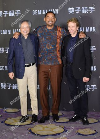 Ang Lee, Will Smith and Jerry Bruckheimer