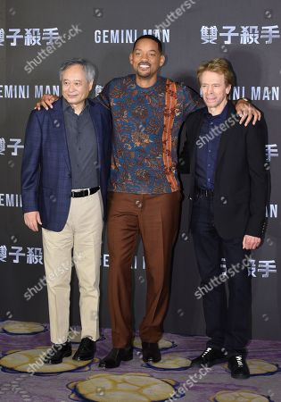 Editorial image of 'Gemini Man' press conference, Taipei, Taiwan - 21 Oct 2019