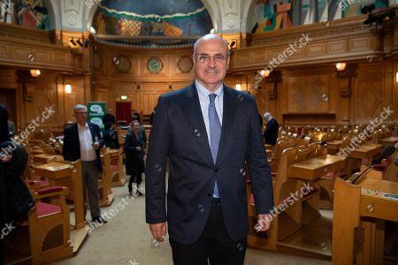 Stock Photo of American-born British financier and political activist Bill Browder