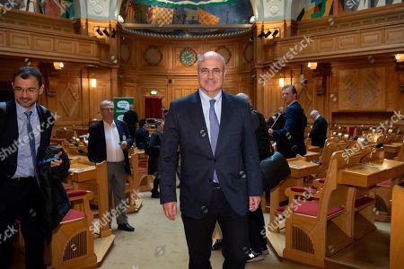 Stock Picture of American-born British financier and political activist Bill Browder