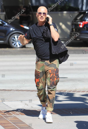 Editorial photo of Howie Mandel out and about, Los Angeles, USA - 21 Oct 2019