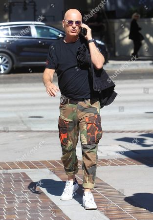 Editorial image of Howie Mandel out and about, Los Angeles, USA - 21 Oct 2019