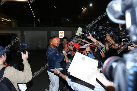 Will Smith arrives in Taipei to promote 'Gemini Man'