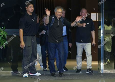 Ang Lee arrives in Taipei to promote 'Gemini Man'