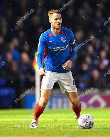 Editorial photo of Portsmouth vs Lincoln City, Sky Bet EFL League 1, Football, Fratton Park, Portsmouth, Hampshire, United Kingdom - 22 Oct 2019