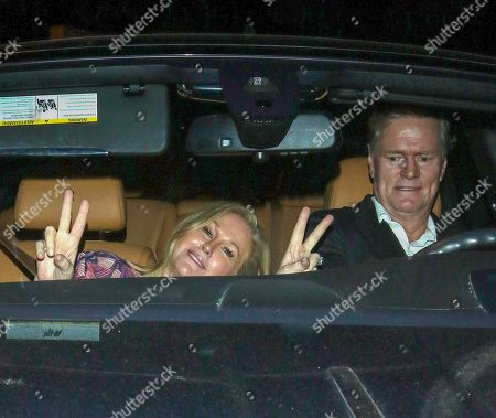 Editorial image of Kathy Hilton out and about, Los Angeles, USA - 21 Oct 2019