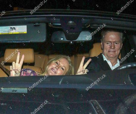 Kathy Hilton and Richard Hilton