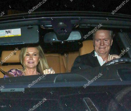Stock Photo of Kathy Hilton and Richard Hilton