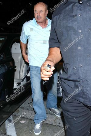 Editorial picture of Dr. Phil McGraw out and about, Los Angeles, USA - 21 Oct 2019