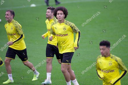 Editorial photo of Borussia Dortmund's training, Milan, Italy - 22 Oct 2019