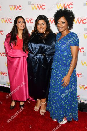 Editorial picture of Women's Media Awards, Arrivals, The Mandarin Oriental Hotel, New York, USA - 22 Oct 2019