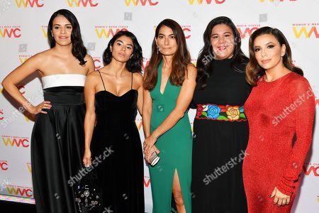 Olga Segura, Diane Guerrero, Alex Martinez Kondracke, Monica Ramirez and Eva Longoria