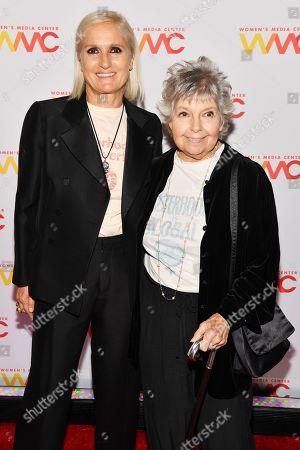 Stock Image of Maria Grazia Chiuri and Robin Morgan