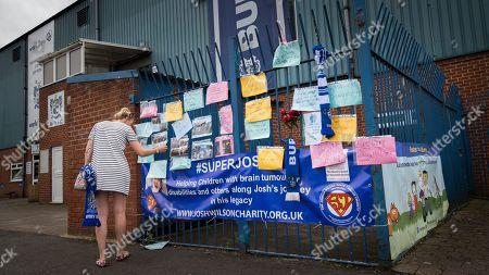 Editorial image of Bury Football Club closure, Bury, UK - 23 Aug 2019