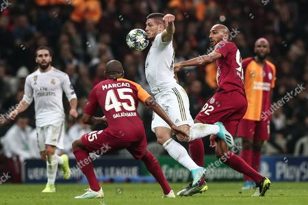 Editorial picture of Galatasaray vs Real Madrid, Istanbul, Turkey - 22 Oct 2019
