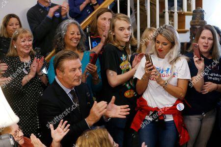 Editorial image of Virginia Election Alec Baldwin, Midlothian, USA - 22 Oct 2019