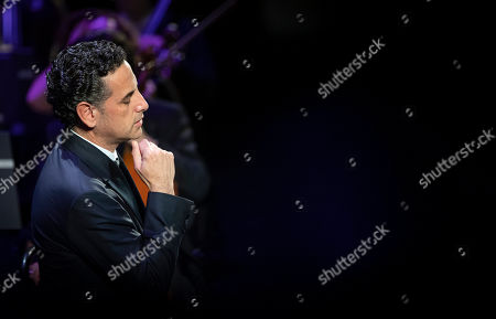 Peruvian operatic tenor Juan Diego Florez performs during his concert at the Erkel Theatre in Budapest, Hungary, 22 October 2019. Florez performed with the Hungarian State Opera Orchestra, conducted by Jader Bignamini of Italy.