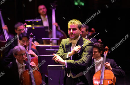 Editorial photo of Juan Diego Florez in concert, Budapest, Hungary - 22 Oct 2019