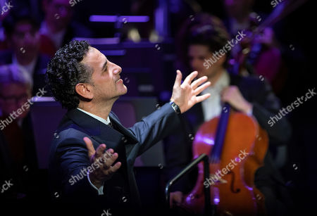 Editorial image of Juan Diego Florez in concert, Budapest, Hungary - 22 Oct 2019