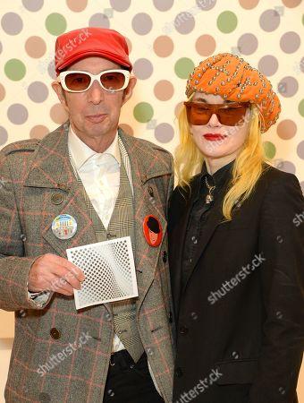 Duggie Fields and Pam Hogg
