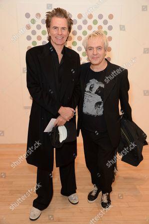John Taylor and Nick Rhodes