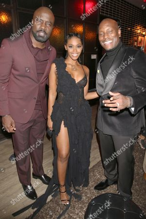 Mike Colter, Nafessa Williams and Tyrese Gibson