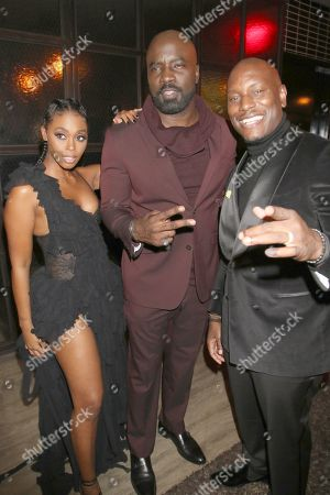 Nafessa Williams, Mike Colter and Tyrese Gibson