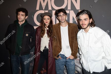 Editorial picture of 'My Stupid Dog' film premiere, UGC Normandie, Paris, France - 22 Oct 2019