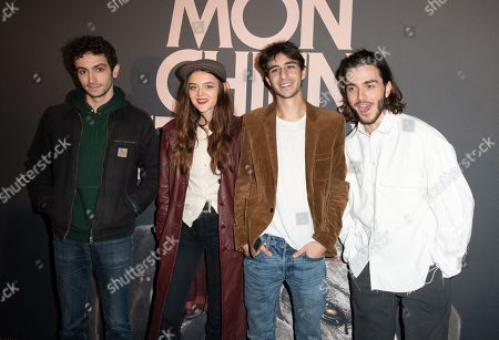 Stock Picture of Pablo Venzal, Adele Wismes, Ben Attal and Panayotis Pascot