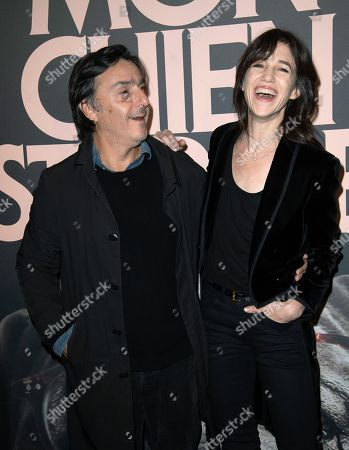 Yvan Attal and Charlotte Gainsbourg