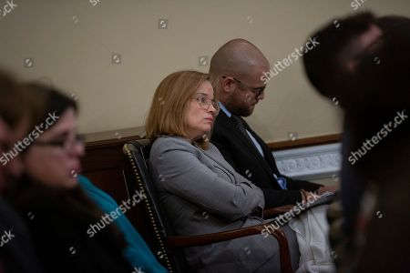 Mayor of the City of San Juan Carmen Yulin Cruz Soto listens during a U.S. House Committee on Natural Resources Hearing.