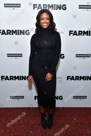 Editorial picture of 'Farming' film screening, Arrivals, Village East Cinema, New York, USA - 22 Oct 2019