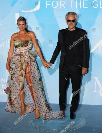 Stock Photo of Veronica Berti and Andrea Bocelli