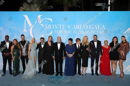 Chris Tucker, Jane Seymour, Robin Thicke, Gwen Stefani, Andy Garcia, Uma Thurman, Prince Albert II and guests