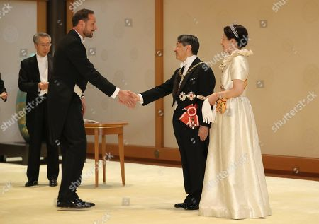 Editorial photo of Imperial state banquet, Tokyo, Japan - 22 Oct 2019
