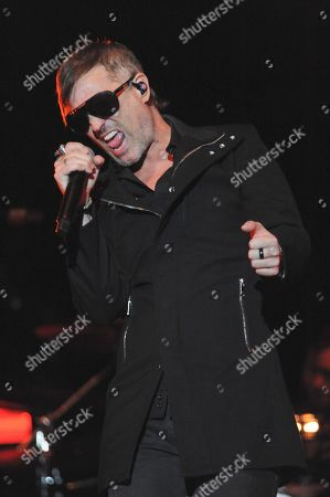 Stock Picture of Stone Temple Pilots - Jeff Gutt