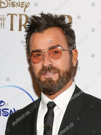 """Justin Theroux attends a special screening of """"Lady and the Tramp,"""" hosted by Disney+ and The Cinema Society, at iPic Theater, in New York"""