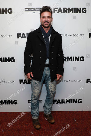 """Frank Grillo attends the special screening of """"Farming"""", hosted by Momentum Pictures and The Cinema Society, at Village East Cinema, in New York"""
