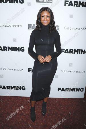 Editorial image of 'Farming' film screening, Arrivals, Village East Cinema, New York, USA - 22 Oct 2019