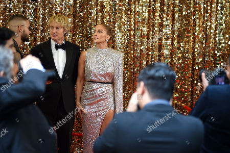 Stock Image of Owen Wilson and Jennifer Lopez