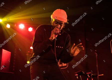 Editorial photo of Jay Prince in concert at the Concorde 2, Brighton, UK - 22 Oct 2019