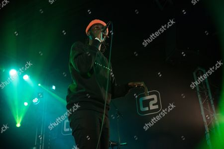Editorial image of Jay Prince in concert at the Concorde 2, Brighton, UK - 22 Oct 2019
