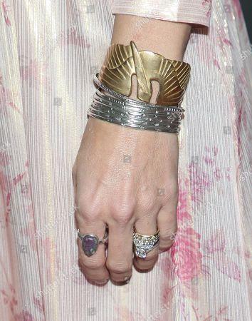 Hilarie Burton jewelry detail