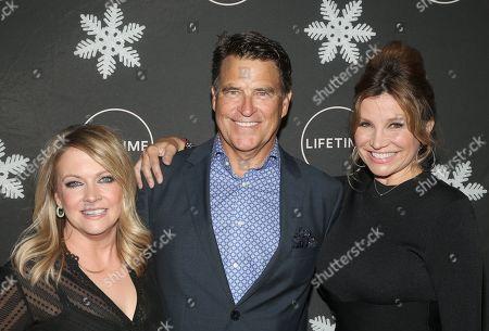 Stock Photo of Melissa Joan Hart, Ted McGinley, Gigi Rice