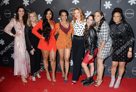 Hilarie Burton, Melissa Joan Hart, Ashanti, Sarah Drew, Soleil Moon Frye, Tia Mowry-Hardrict and Kim Fields