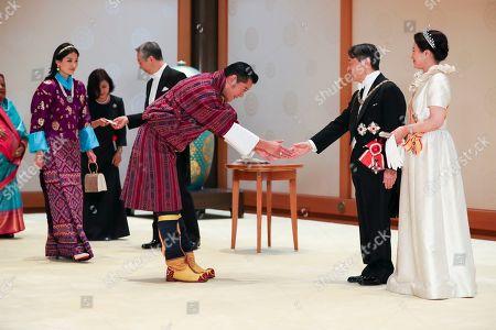 King Jigme Khesar Namgyel Wangchuck, Majesty Queen Jetsun Pema Wangchuck, Emperor Naruhito and Empress Masako
