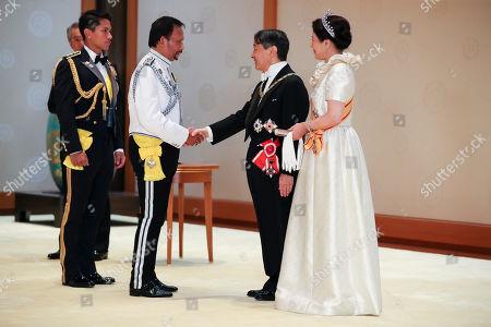 Sultan of Brunei, Emperor Naruhito and Empress Masako