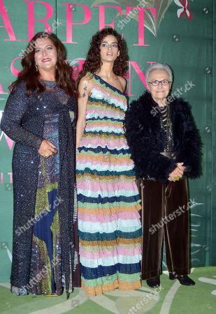 Editorial image of Green Carpet Fashion Awards Italia, Arrivals, Spring Summer 2020, Milan Fashion Week, Italy - 22 Sep 2019