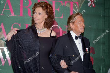 Editorial photo of Green Carpet Fashion Awards Italia, Arrivals, Spring Summer 2020, Milan Fashion Week, Italy - 22 Sep 2019